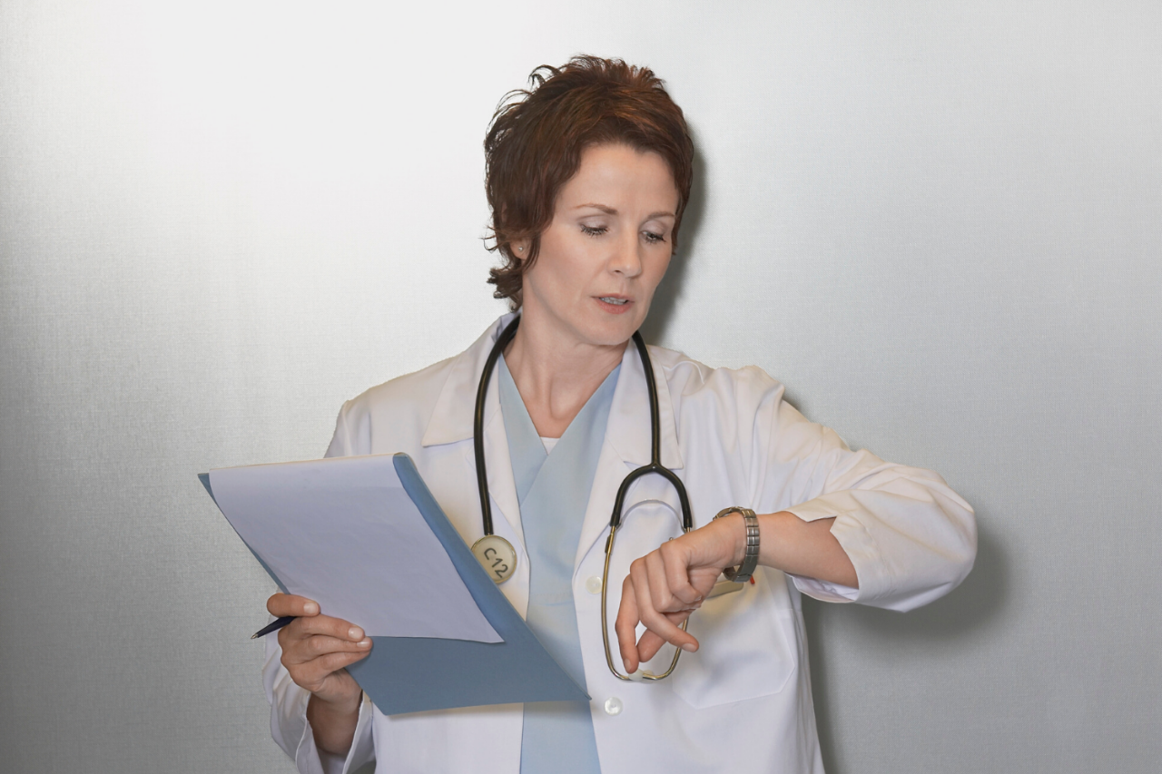 Doctor frustrated when patient doesn't show up for appointment